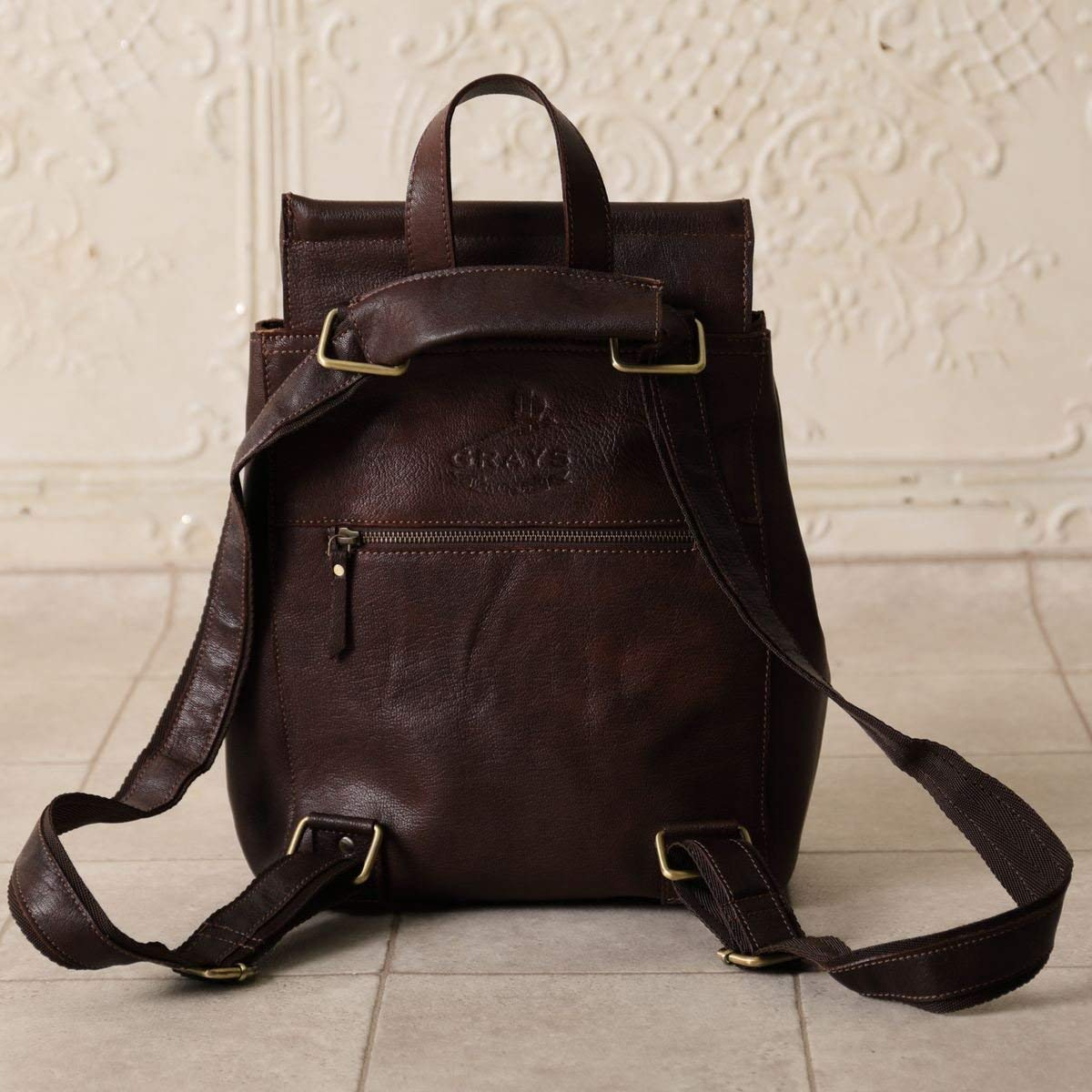 Grays Holly Brown Fine Leather Womens Shopper Bag