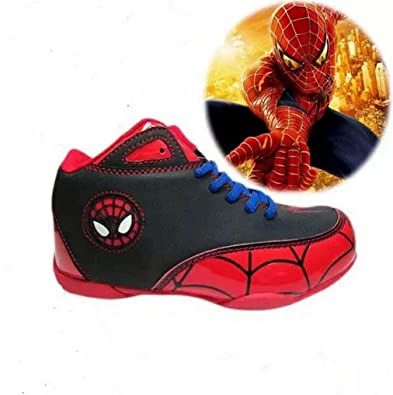 the best attitude e0cc4 8394b Myfeelingg Spiderman Schuhe (33, Rot): Amazon.de: Schuhe ...