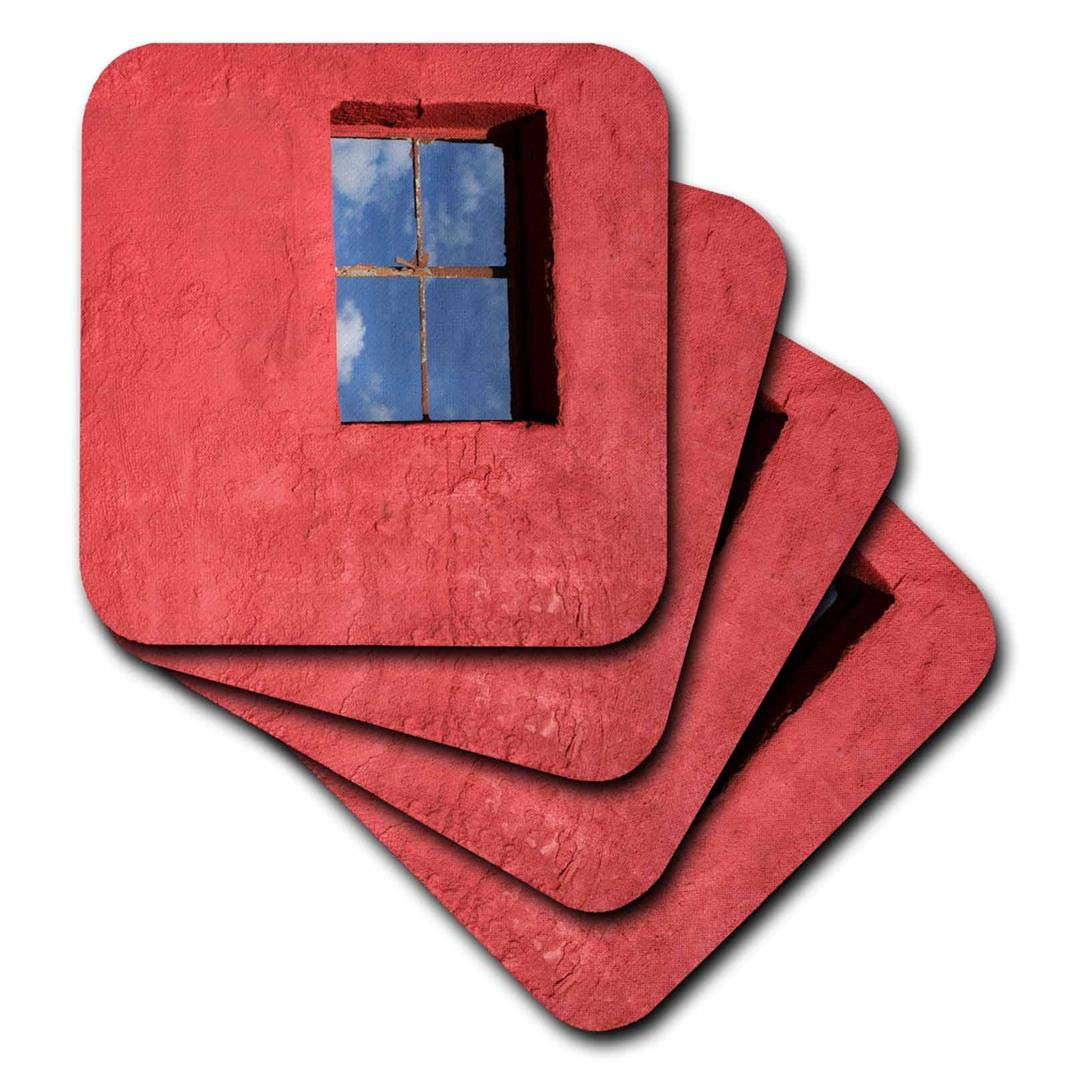(set-of-8-Soft) - 3dRose cst_92692_2 Southwestern Building, Carrizozo, New Mexico Us32 Jmr0544 Julien Mcroberts Soft Coasters, (Set of 8) set-of-8-Soft  B00AF8L1L4