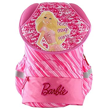 Target Barbie Never Enough Sparkle Backpack Mochila Escolar, 42 cm, Rosa (Pink): Amazon.es: Equipaje