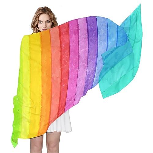 COOSUN - Bufanda - para mujer multicolor multicolor Medium