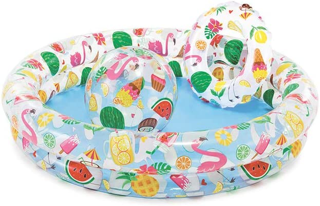B00013PPJC Intex Recreation 59460EP, just so fruity, Pool Set 612BVLfXuCvL