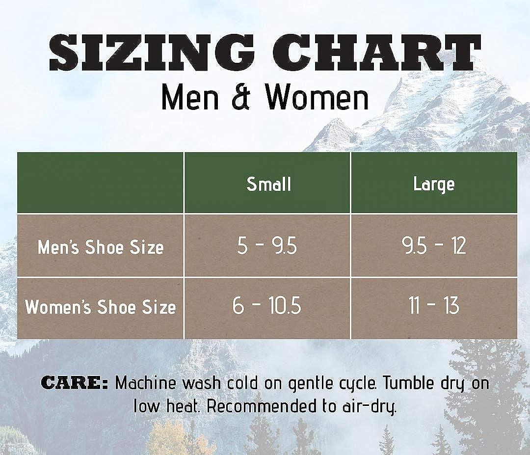 3 Pairs Merino Wool Socks Premium Hiking 85/% Wool Hike Boot Ski Socks Unisex 3 Pack WOOLSOCK