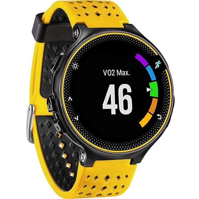JiaMeng para Garmin Forerunner 735XT Watch2,Banda de Reloj de Repuesto de Correa de Silicona