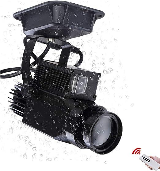 HXZB 30W GOBOS Proyector De La Insignia De Luz con Control Remoto ...