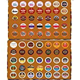 2 Holiday Gift boxes of regular and flavored coffee for the Keurig K Cup Brewer, 2 boxes of 35 cups in each