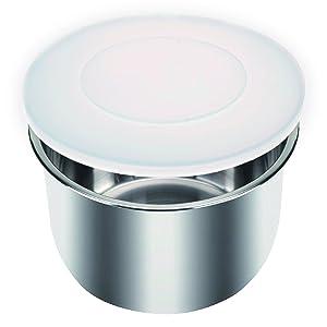 3 Quart Silicone Lid - Instant Pot -Compatible - Insta Pot Pressure Cooker Lid for All Mini 3 Qt Models