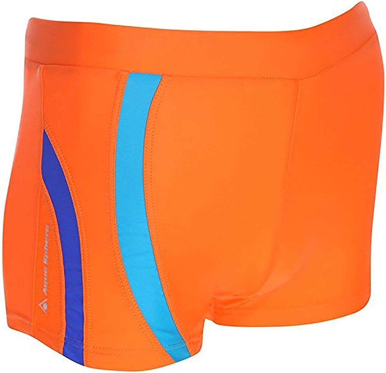 Orange//Royal Blue,42 Aqua Sphere Rusty Mens Square Leg Swim Short
