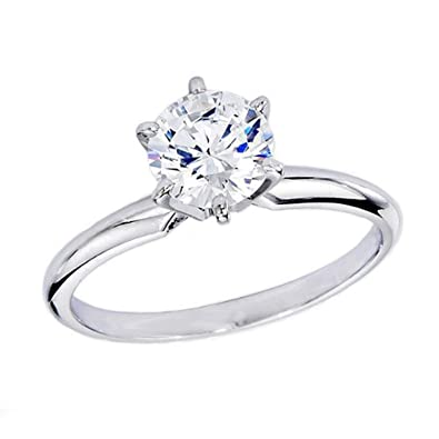 7c8eafd8b Image Unavailable. Image not available for. Color: IGI Certified 1.04 Carat  (ctw) ...