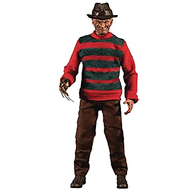 Mezco One: 12 Collective: A Nightmare On Elm Street: Freddy Krueger Action Figure, Multicolor: Toys & Games