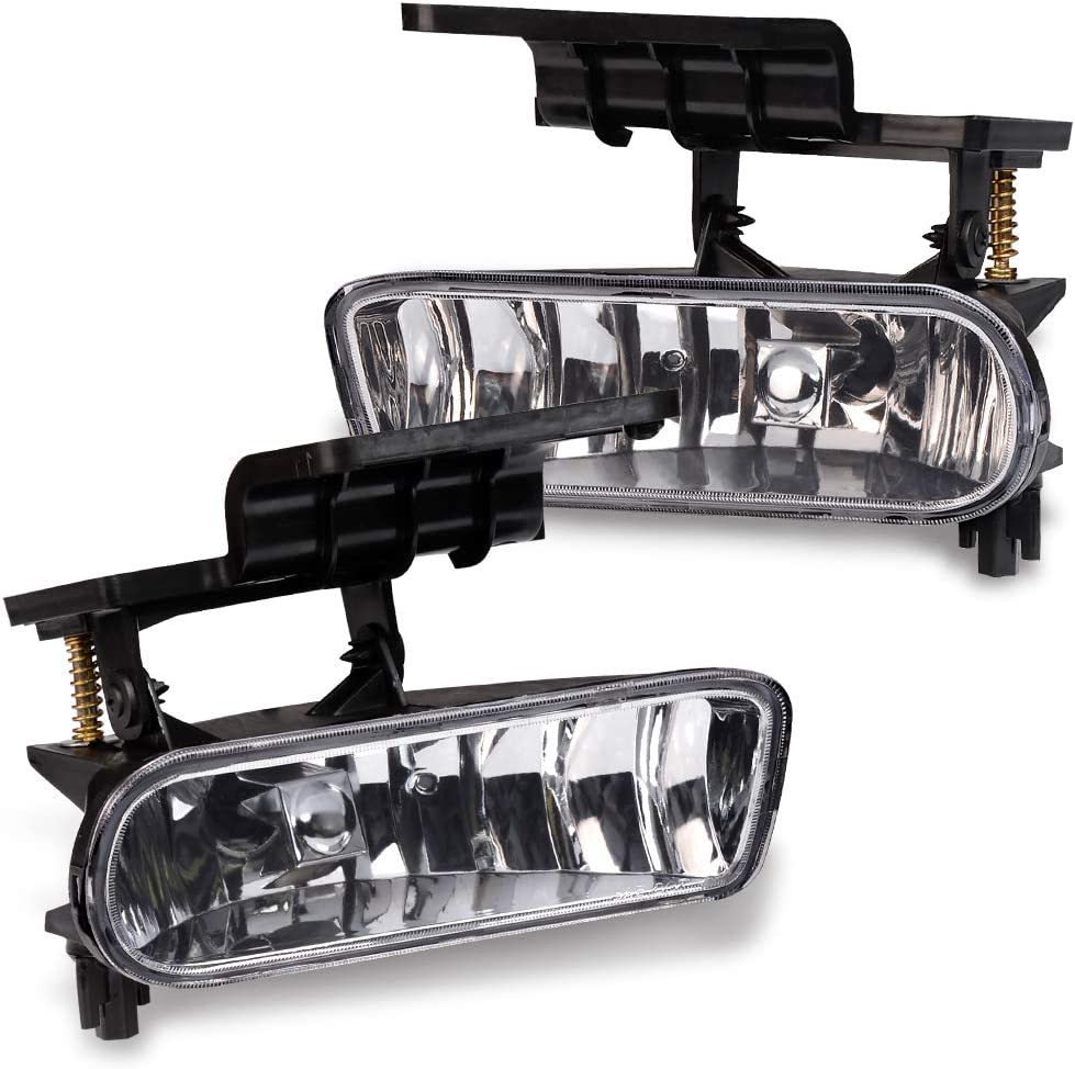 Fog Lights Bumper Lamps For 1999-2002 Chevy Silverado 1500 2500 For 00-06 Chevy Tahoe Suburban