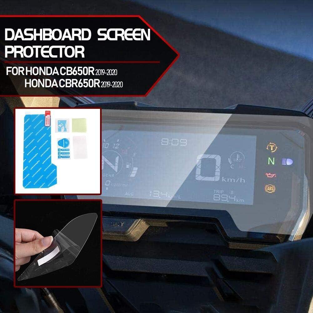 Lorababer Cb650r Cbr650r Motorradcluster Scratch Cluster Bildschirmschutzfolienschutz Für H O N D A Cb 650r Cbr 650r Cb 650 R Cbr 650 R 2019 2020 Auto