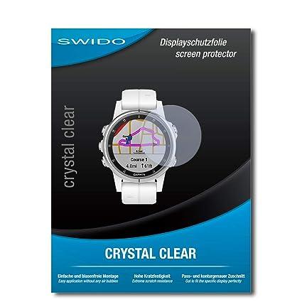 SWIDO® Protector de Pantalla para Garmin Fenix 5S Plus ...