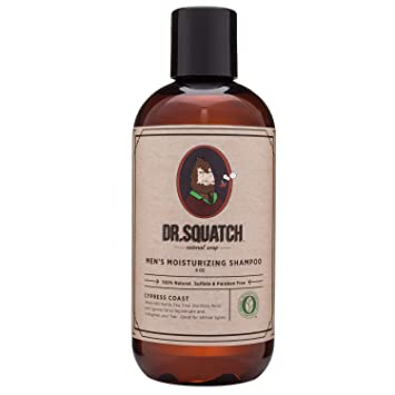 Dr  Squatch Natural Men's Shampoo – Eliminate Dandruff, Dry Scalp, and  Prevent Hair Loss with this