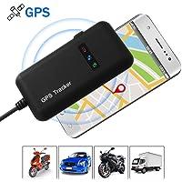 ElevenII Seguidor del vehículo Localizador, Mini Rastreador GPS Tracker para Autos Vehículo o Moto, Portátil GPS Tracker Tiempo Real GPS/gsm/GPRS/SMS Que Sigue, Alarmas y Geocerca