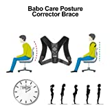 Posture Corrector for Women and Man - Shoulder Back Brace Support,Clavicle Support, Adjustable Figure,Prevent Humpback,Pain Relief, Extra Soft Breathable