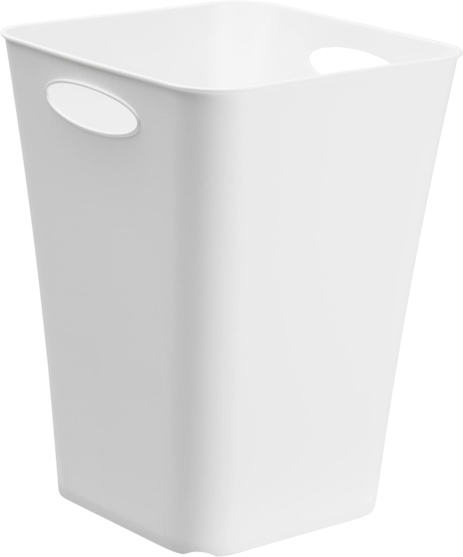 PP 29,5 x 29,5 x 39,5 cm BPA-frei Kunststoff Anthrazit Rotho Living Aufbewahrungsbox 23l 23 l