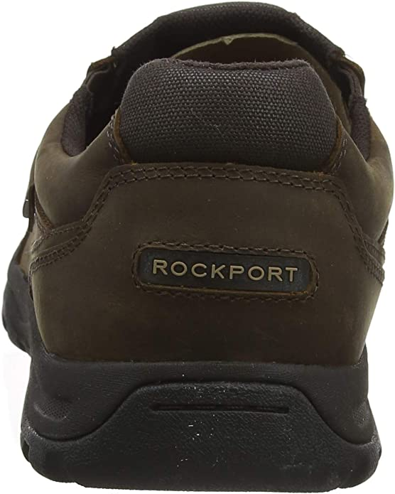 Rockport Mens Harlee Double Gore Slip on Mules