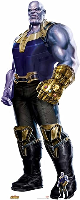 Endgame Official Lifesize Cardboard Cutout Brolin Thanos from Marvel Avengers