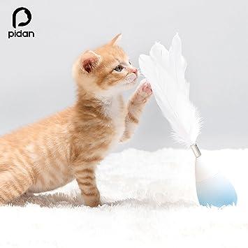 pidan studio - Roly-Poly culbuto juguetes para gatos (pink): Amazon.es: Juguetes y juegos