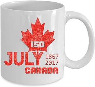 Amazon.com   150 Year Jubilee CANADA Mug - Canada Mug ...