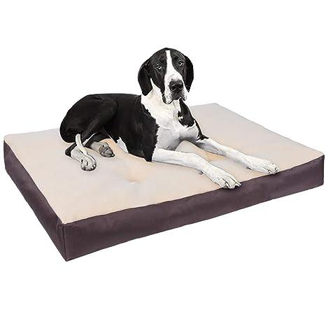 EUGAD Cojín para Perro Cama para Perro Gatos Mascatos XXXL/130 * 100 * 10cm
