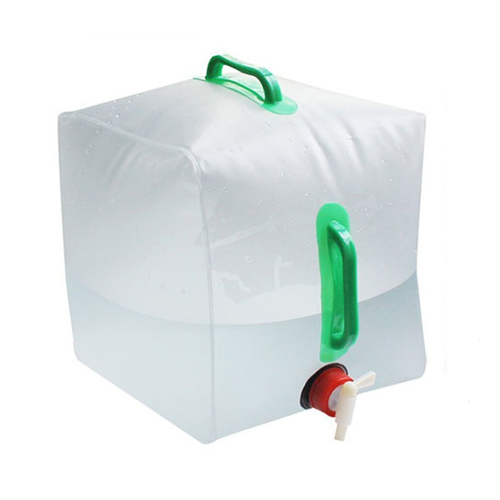 Gaiatop Water Carrier,Collapsible Water Container 5 Gallon/20L,Portable Water Carrier Bag PVC Outdoor Water Storage for Camping Hiking Climbing Backpacking by Gaiatop