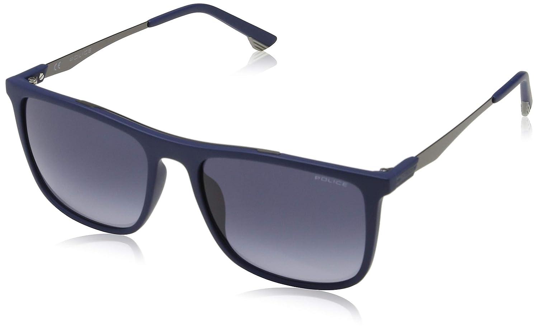 Police Vibe 1 Gafas de sol, Azul (Matte Dark Blue/Black ...