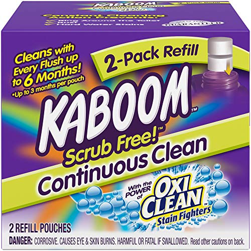 Kaboom Scrub Free! Continuous Clean Toilet Cleaning Refill 2 Pack