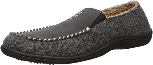 Amazon Com Acorn Men S Crafted Moc Slipper Ash X Large Standard Us Width Us Loafers Slip Ons