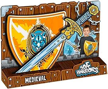 Soft Warriors-Pack Espada + Escudo Caballero: Amazon.es: Juguetes y juegos