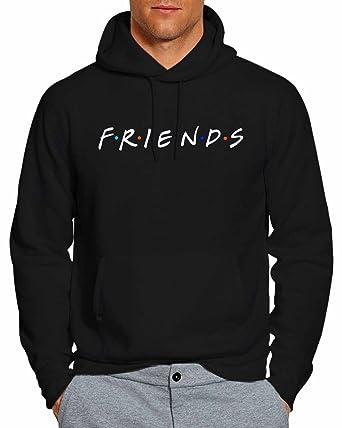 17ed66e525 Friends Tv Show Hoodie Pullover Unisex Sweatshirt FW at Amazon Men s ...