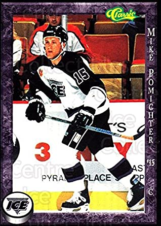 Amazon com: (CI) Mike Pomichter Hockey Card 1994-95