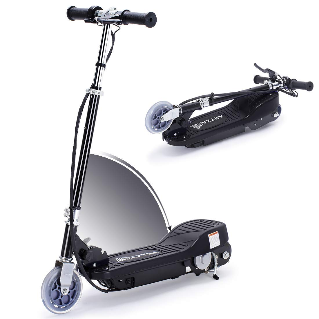 Overwhelming Upgrade E100 Adjustable Handlebar Height Folding Electric Scooter for Kids, 160LBS Max Weight Capacity Motorized Scooters, up to 10mph by Overwhelming