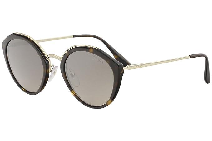Prada 0PR 18US, Gafas de Sol para Mujer, Havana/Pale Gold ...
