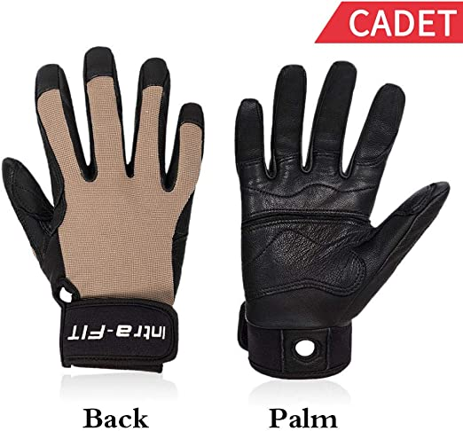 Outdoor Sports Perfect for Rappelling Comfortable,Improved Dexterity Adventure Durable Intra-FIT Winter Climbing Gloves Rope Gloves Rock//Tree//Wall//Mountain Climbing Soft Rescue