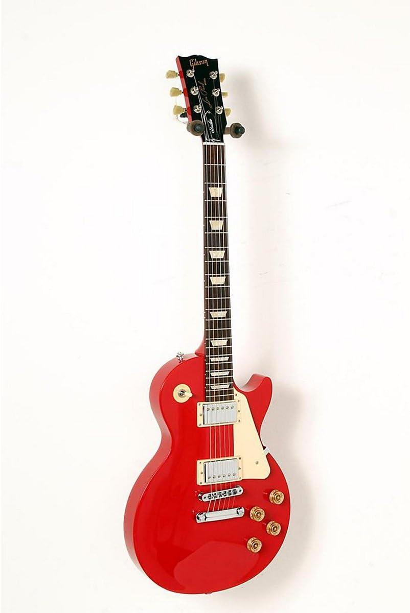 Gibson 2016 guitarra eléctrica Les Paul Studio T radiante, rojo y ...
