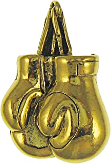 product image for Jim Clift Design Boxing Gloves Gold Lapel Pin