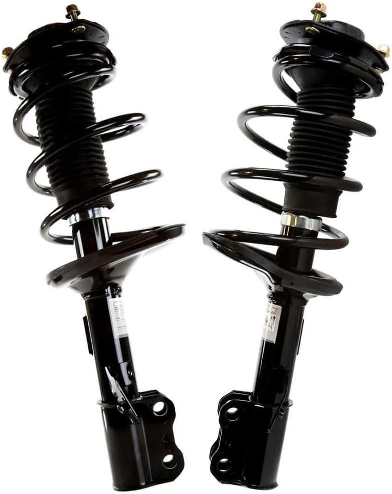 AutoShack CST100236PR Front Complete Strut Assembly Pair 2 Pieces Fits Driver and Passenger Side