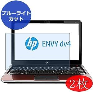 【2 Pack】 Synvy Anti Blue Light Screen Protector for HP Envy dv4-5300 / 5311tx / 5313tx 14