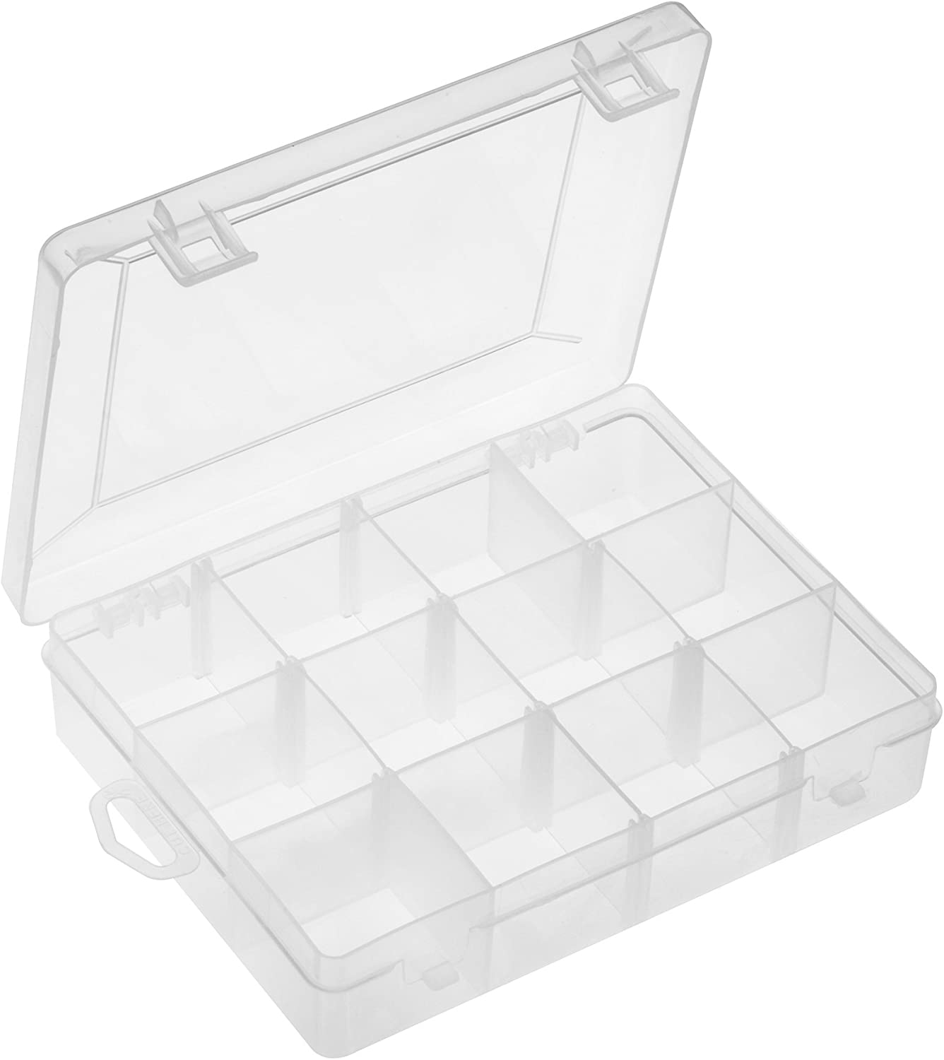 South Bend Utility Box, 12-Compartment, Clear