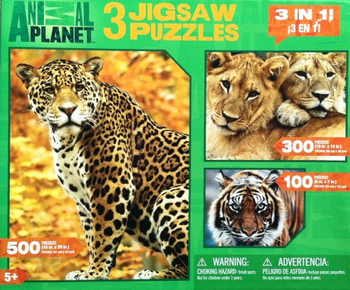 ANIMAL PLANET Jigsaw Puzzles Leopard product image