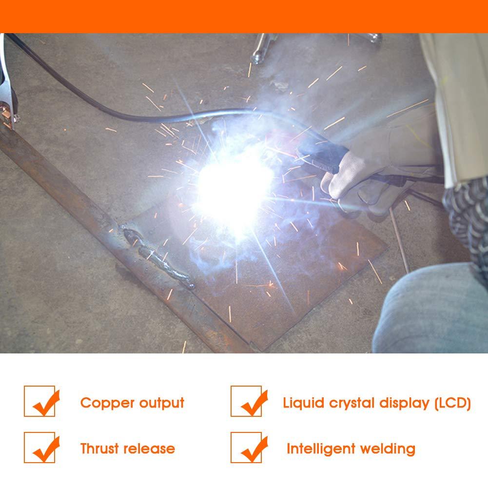 IDABAY Soldadora portátil de arco de soldadura Handheld Soldador eléctrico Inverter Copper Core Máquina de soldadura Inverter Digital Display Tool Welder ...