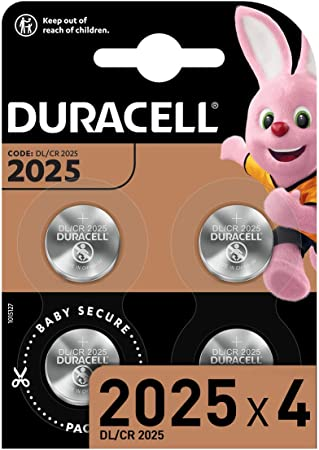 Duracell Specialty 2025 Lithium Knopfzelle 3 V Elektronik