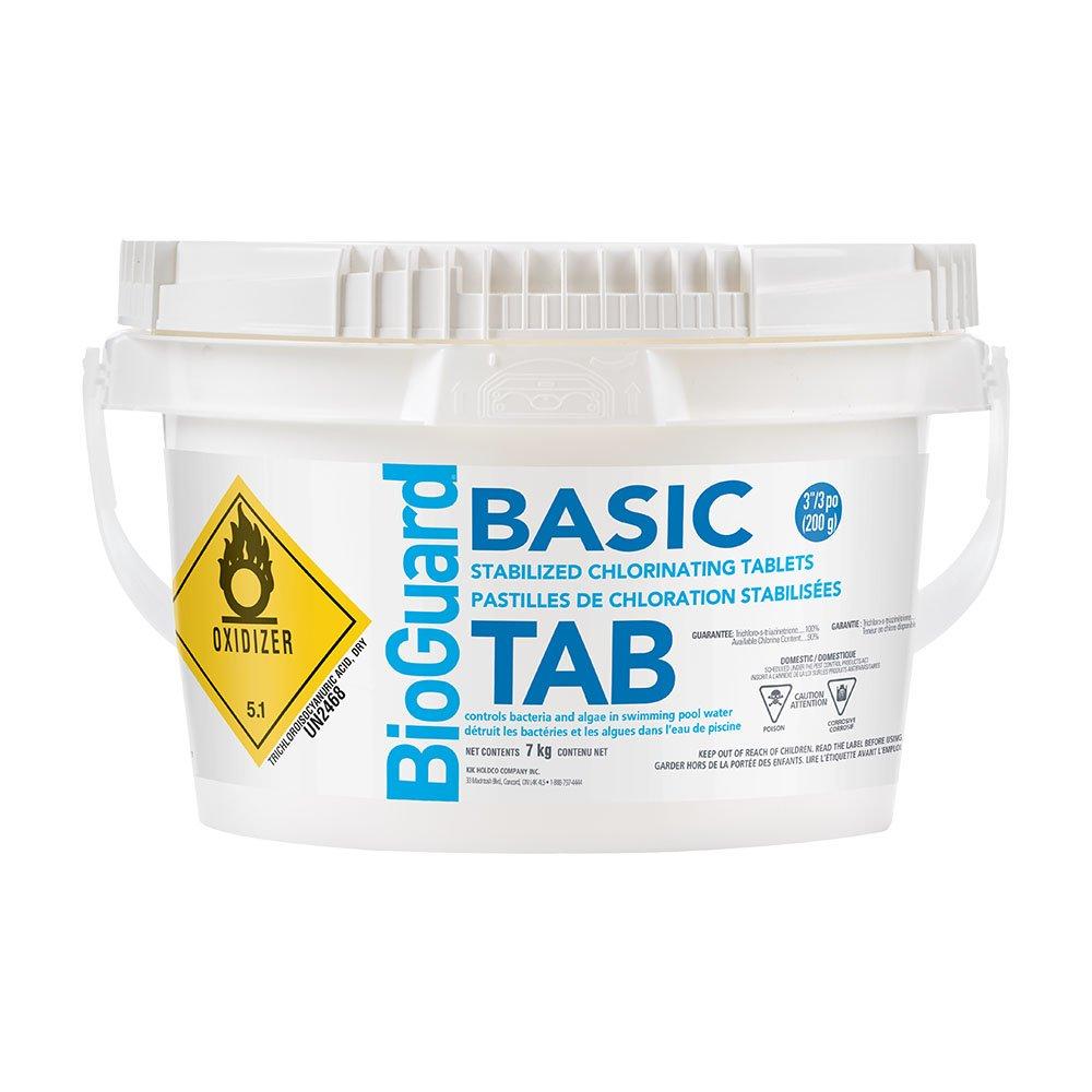 BioGuard Basic Tabs (7 kg) 3 Chlorine Tablets to Sanitize (SKU 2484) BIO22512