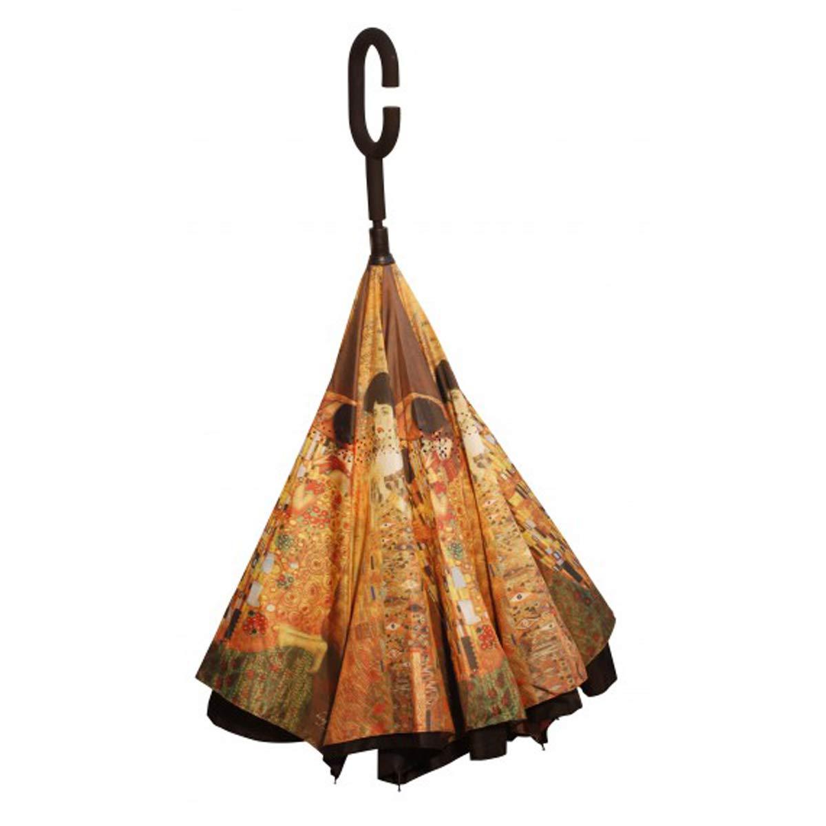 Les Trésors De Lily [Q3102] - Caña de Paraguas (LLeess IInnvveerrss é SS) Gustav Klimt - 79.5 cm.: Amazon.es: Equipaje