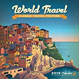World Travel Classic Posters 2019 Wall Calendar