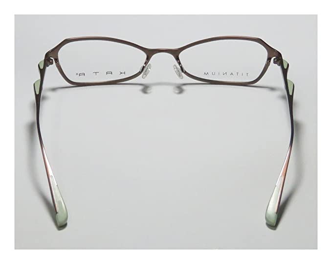 e9a4001120a Amazon.com  Kata Peel 1 For Ladies Women Designer Full-Rim Shape Titanium  Authentic Made In Japan Eyeglasses Eyewear (50-17-135