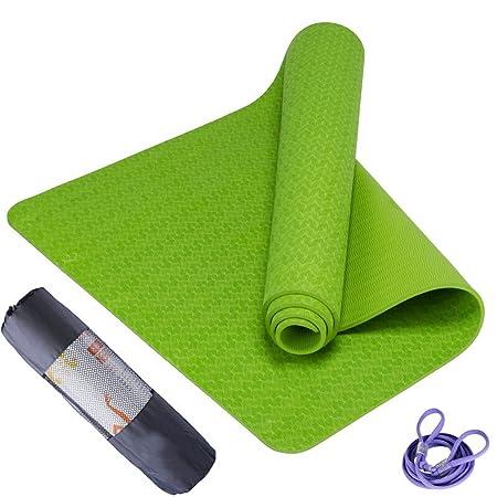 Wuyou-Yoga Mats 201905 - Colchoneta de Yoga, Color Verde ...