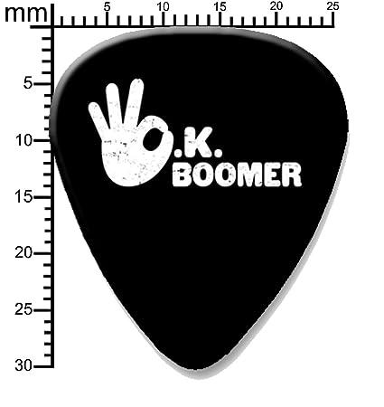 Ok Boomer - Púa de guitarra impresa y accesorios, 1 púa individual ...